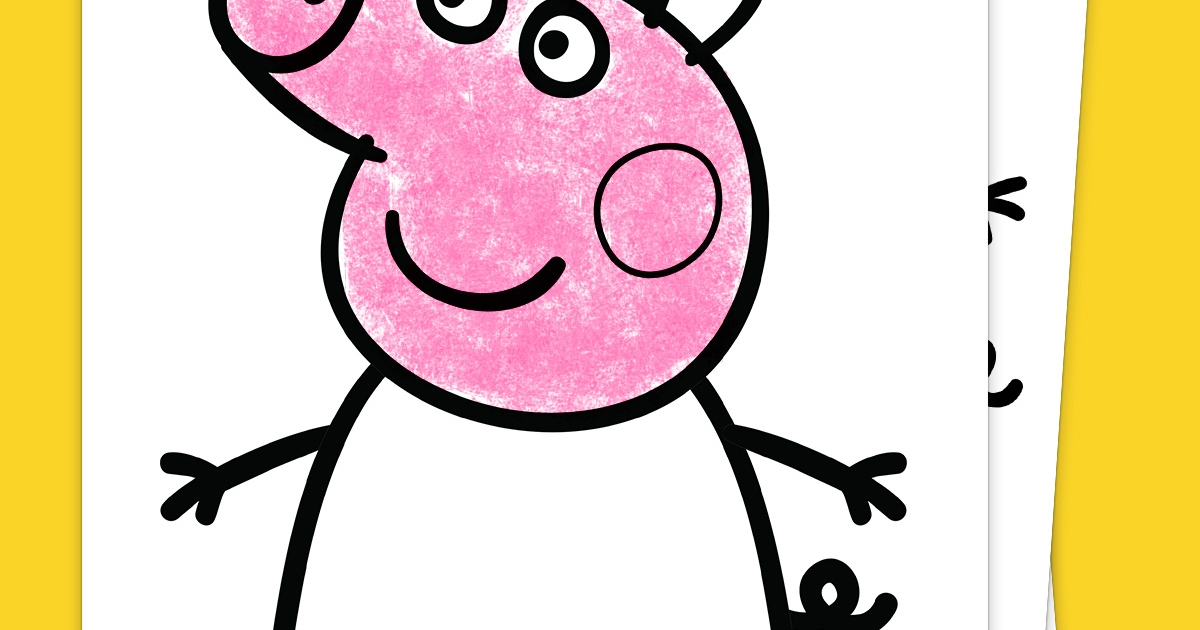 Your Exclusive Peppa Pig Coloring Pack Nickelodeon Parents