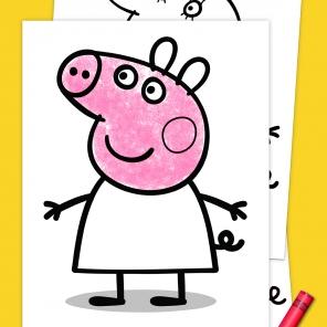 Peppa Pig Coloring Pack