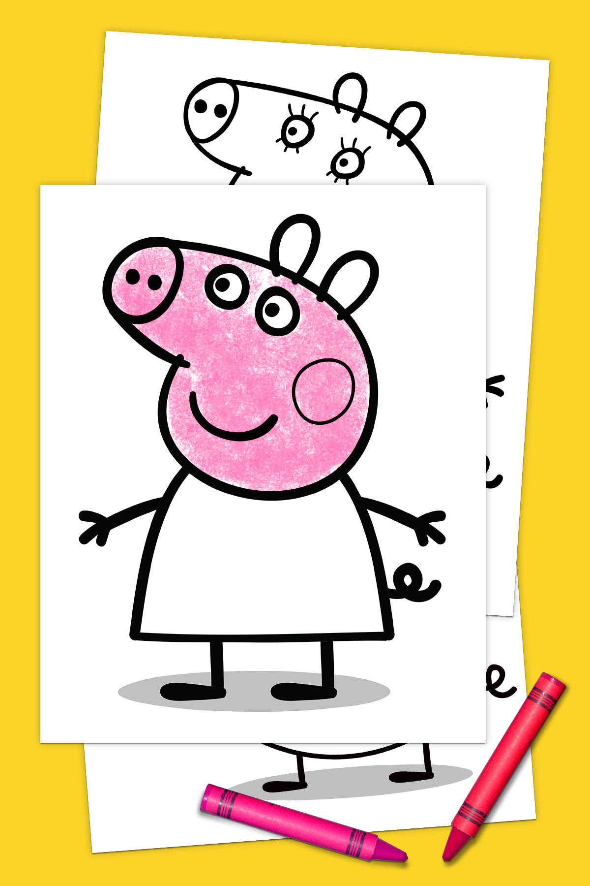 Peppa Pig Coloring Pack | Nickelodeon Parents