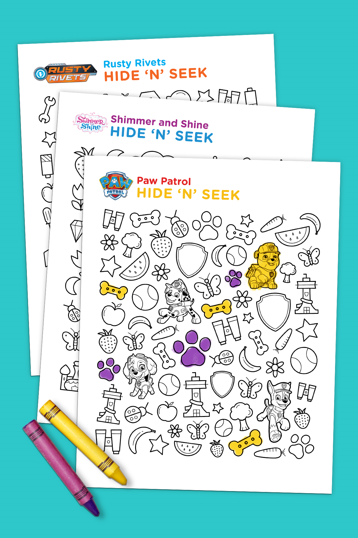 Hide and Seek Printable