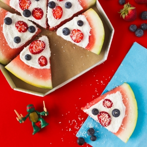 TMNT Watermelon Pizza Recipe