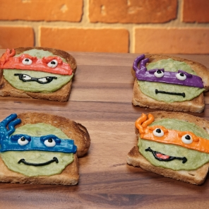 TMNT Booyakasha Avocado Toast