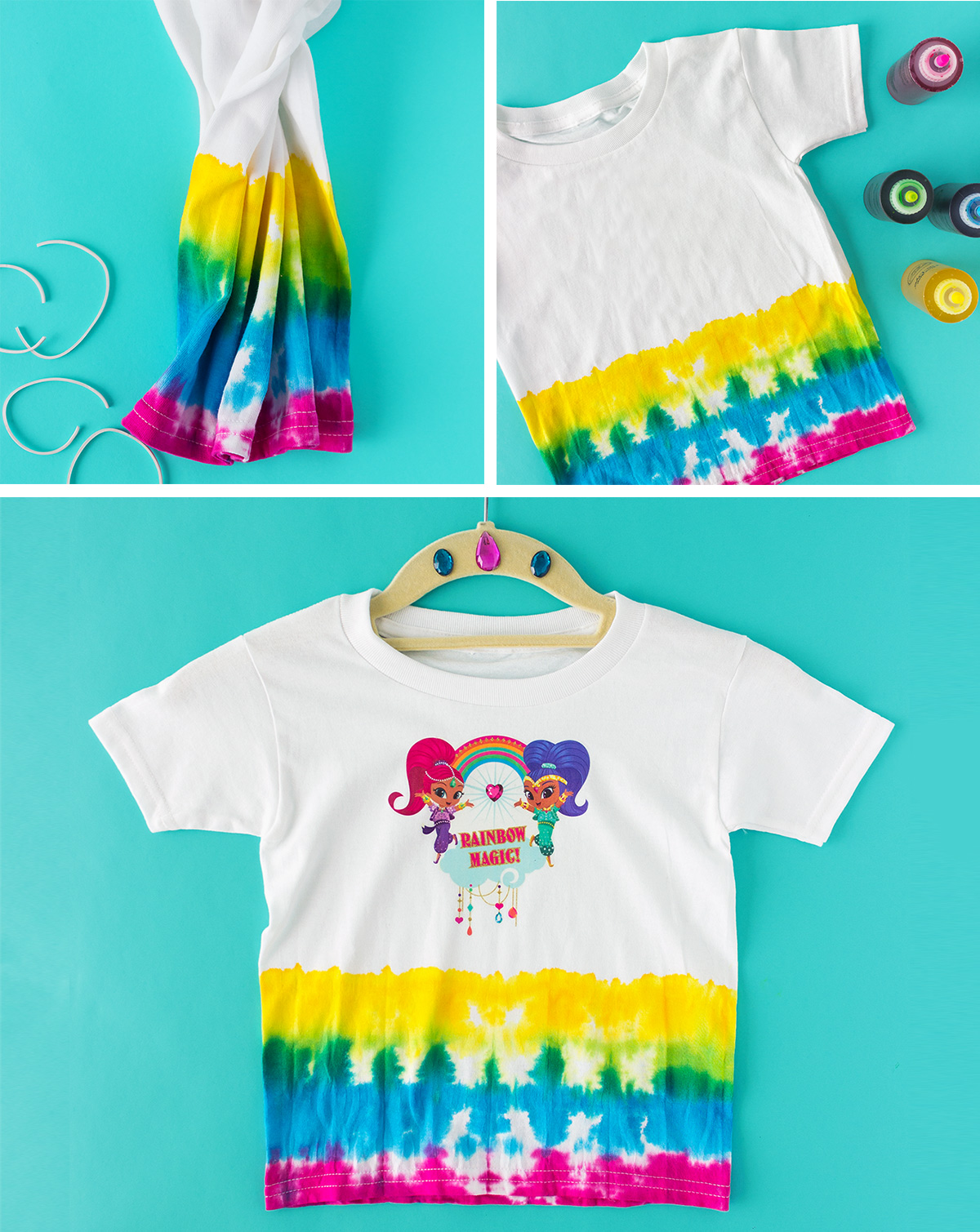 Rainbow Zarahmay Tie-Dye Craft