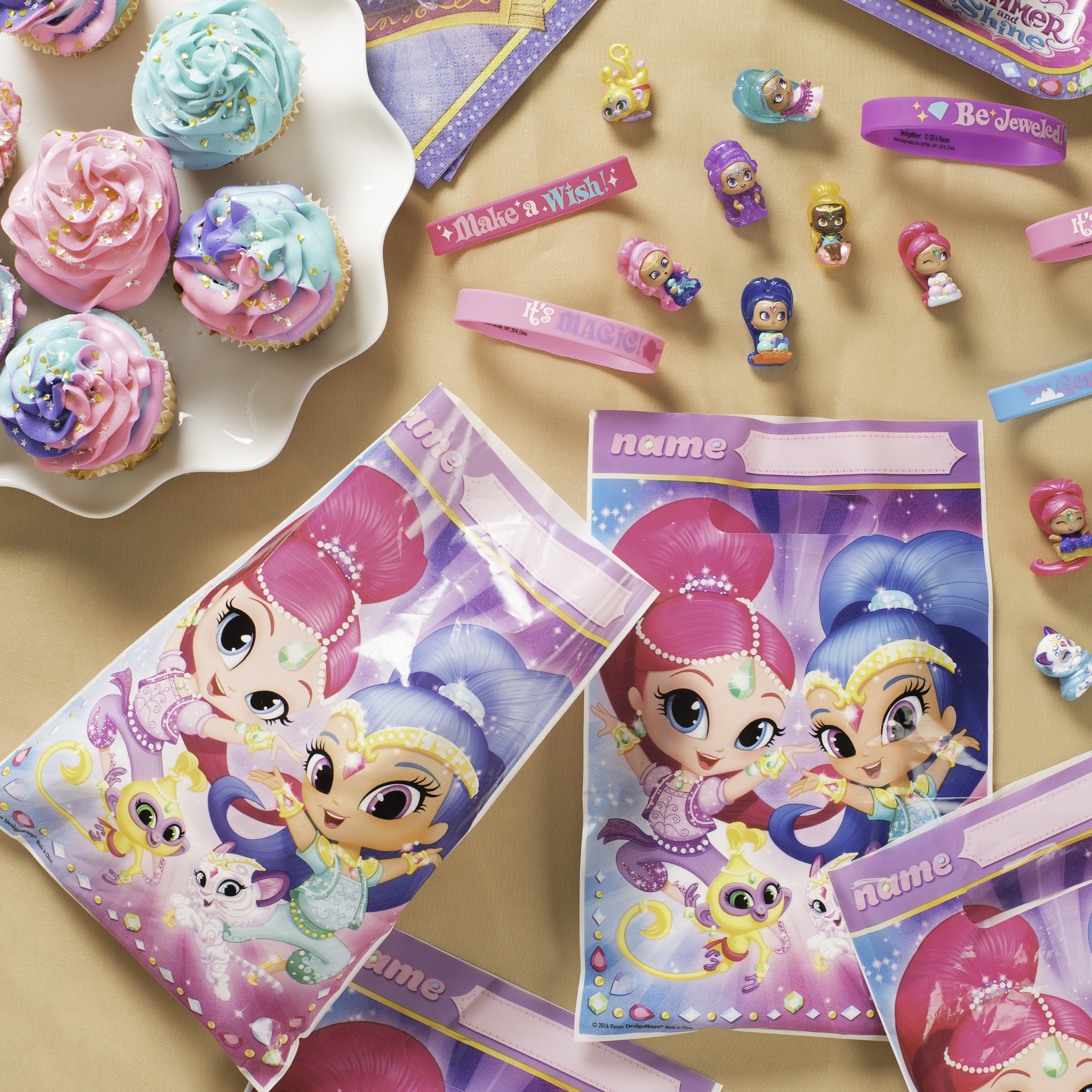 How To Throw A Sparkly Shimmer And Shine Birthday Party