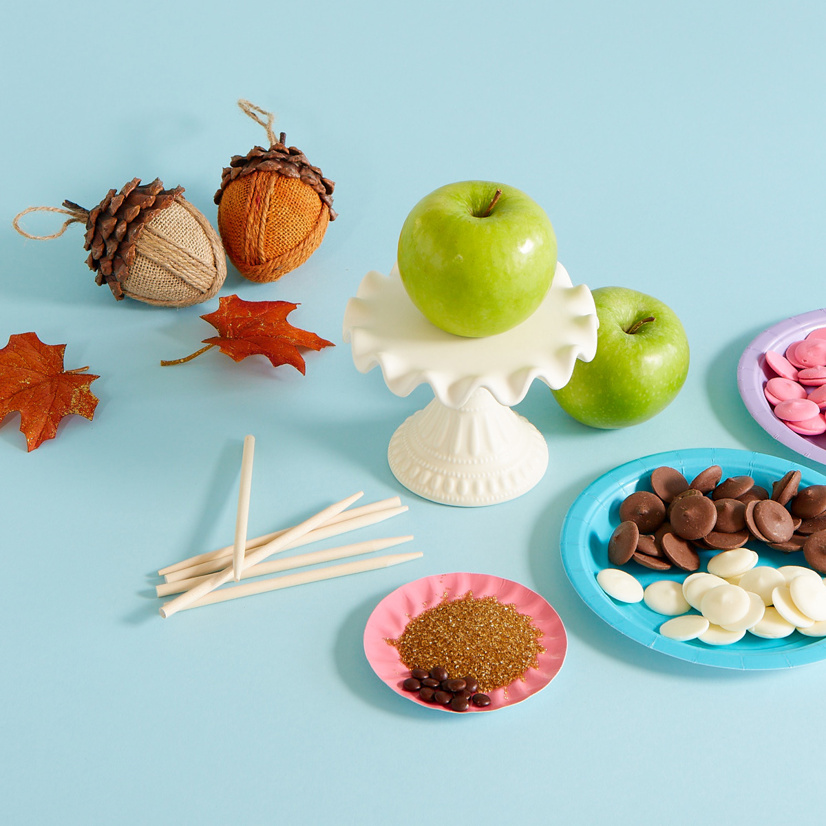 DIY Nick Jr. Candy Apples