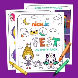 Nick Jr. Boo Fest Activity Pack