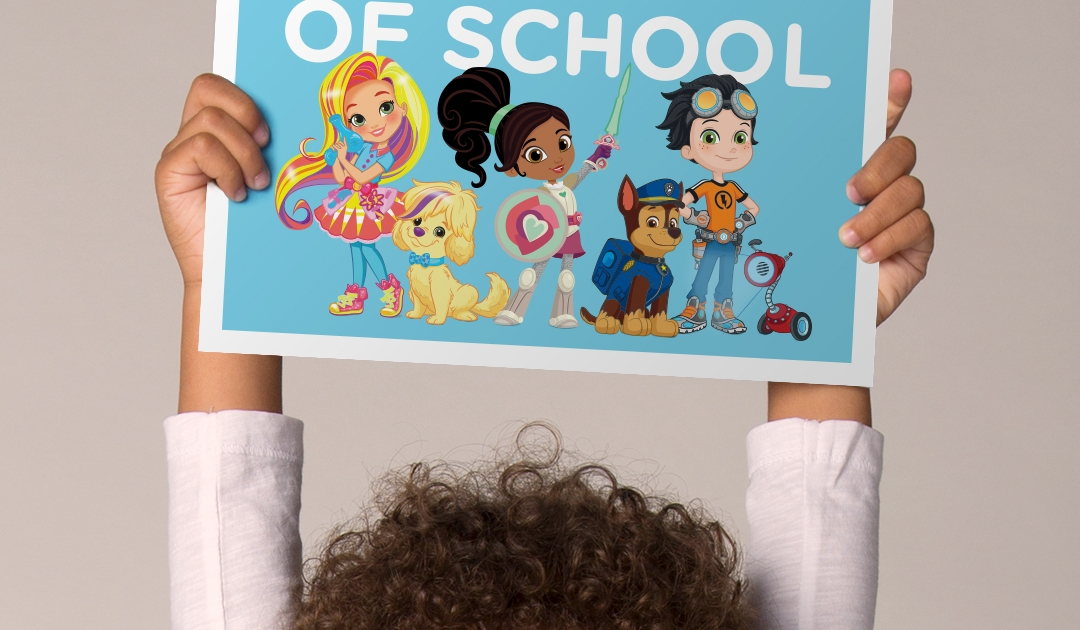 First Day of School Printable Sign   Nickelodeon Parents
