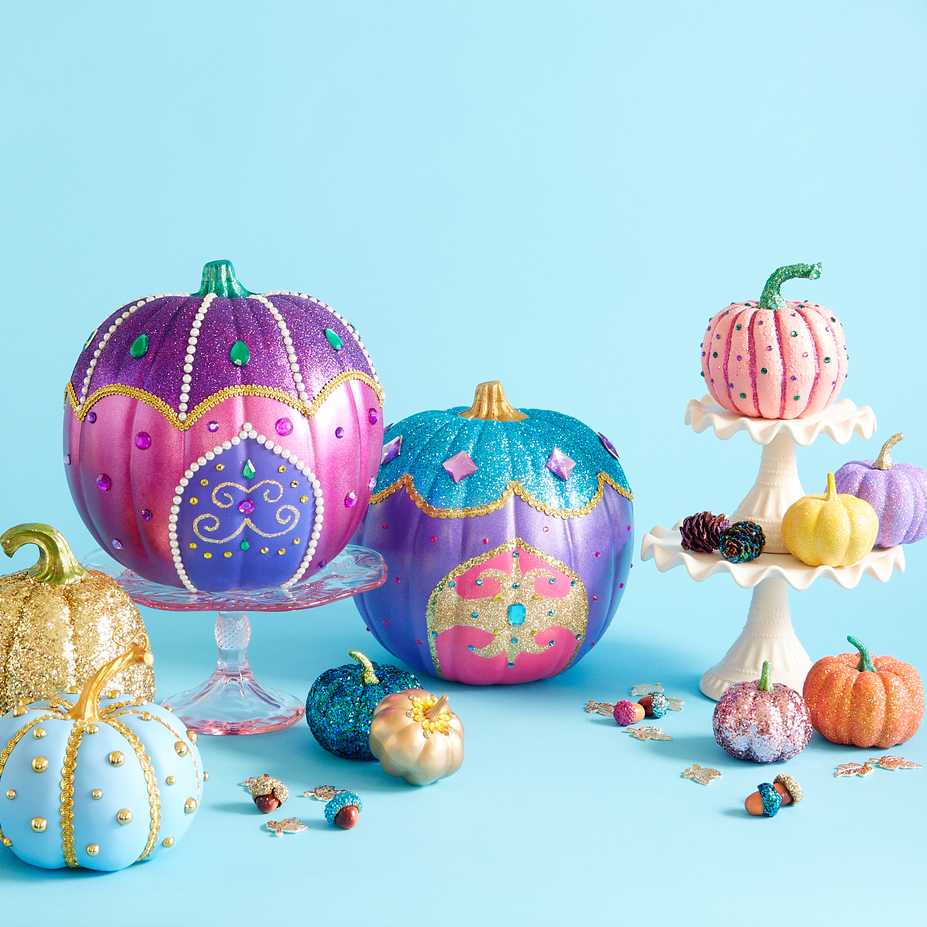 Shimmer and Shine Pumpkin Painting