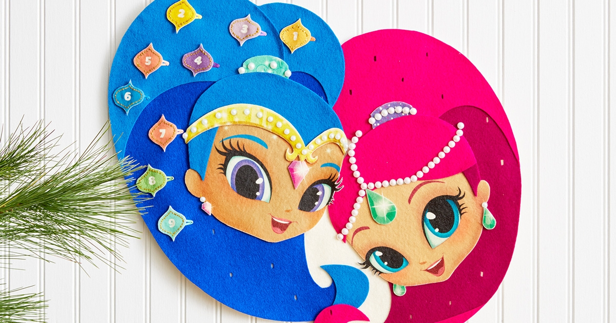 Teenage Toys For Christmas : Shimmer and shine advent calendar nickelodeon parents