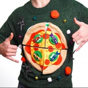 TMNT DIY Holiday Sweater