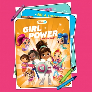 Girl Power Activity Pack