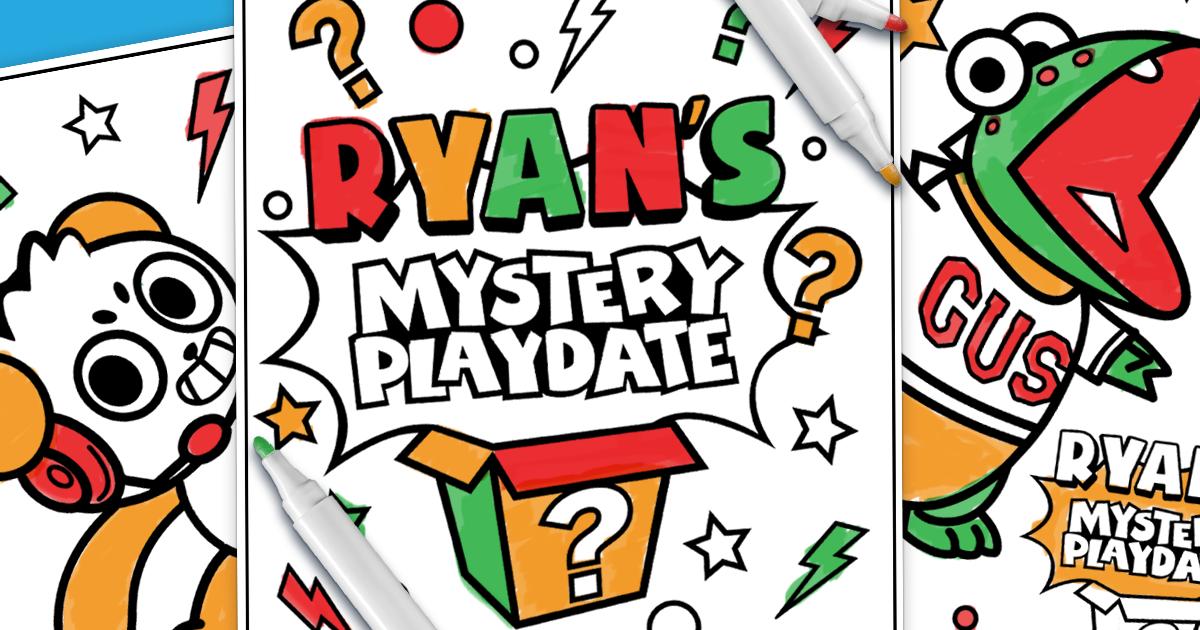 Ryan 39 s Mystery Playdate 3 Marker