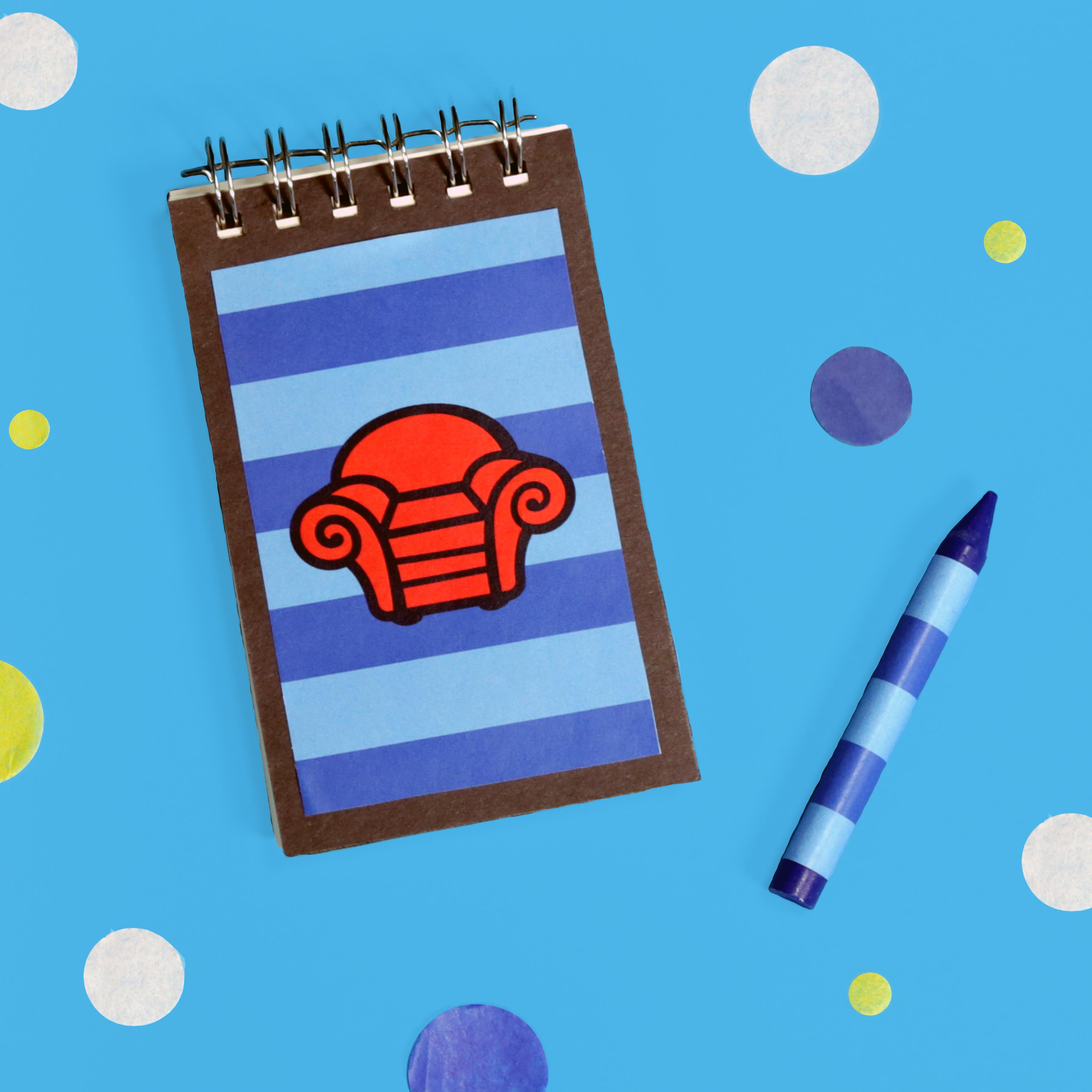 Handy Dandy Notebook Closed