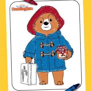 Paddington Coloring Sheet