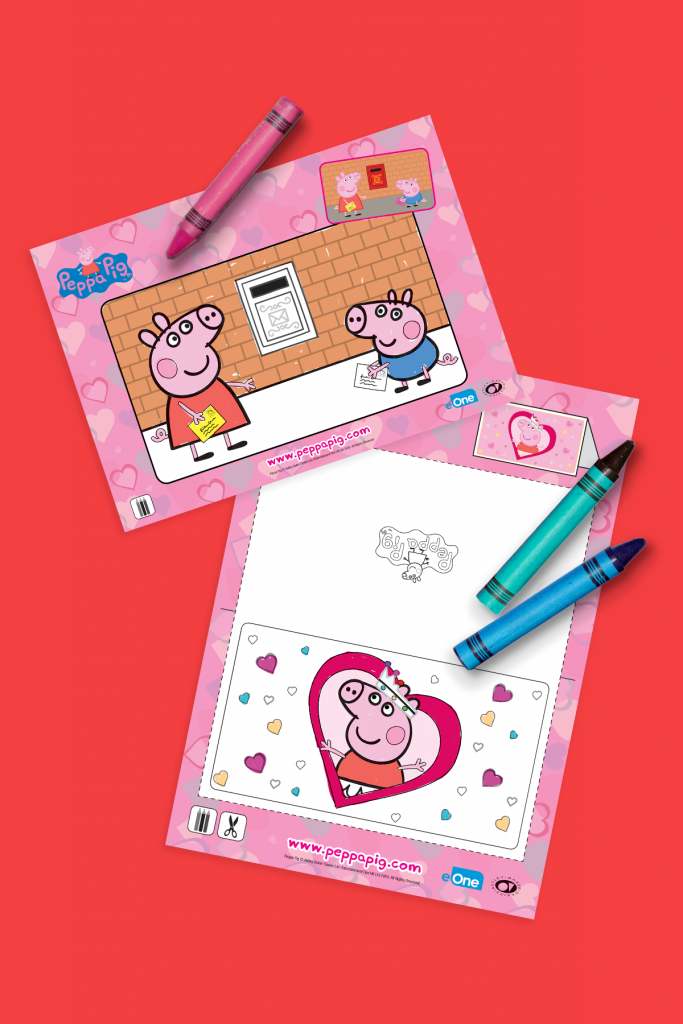 Peppa Pig Valentine's Day Printables
