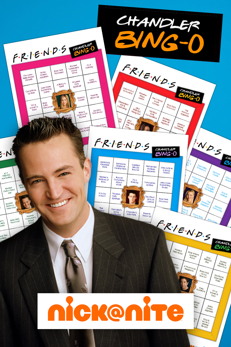 Friends Chandler Bing-O