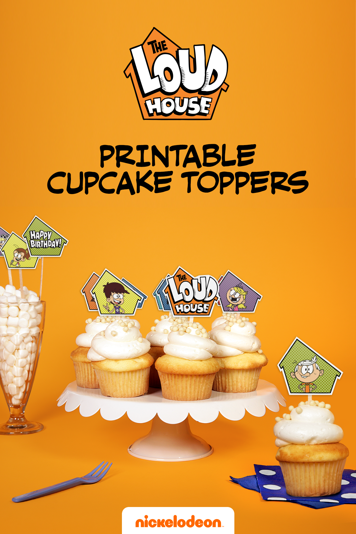 The Loud House Cupcake Toppers