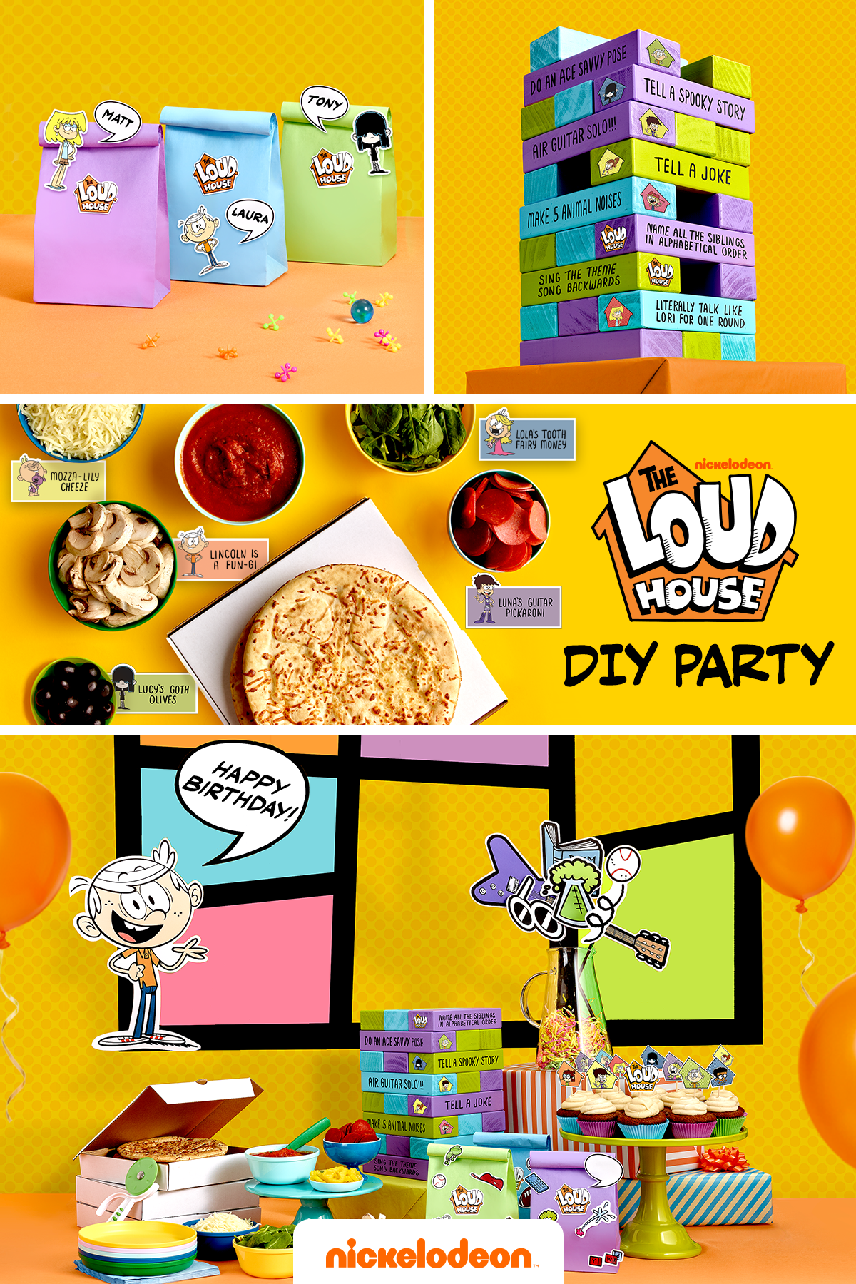 Plan a Loud House Party