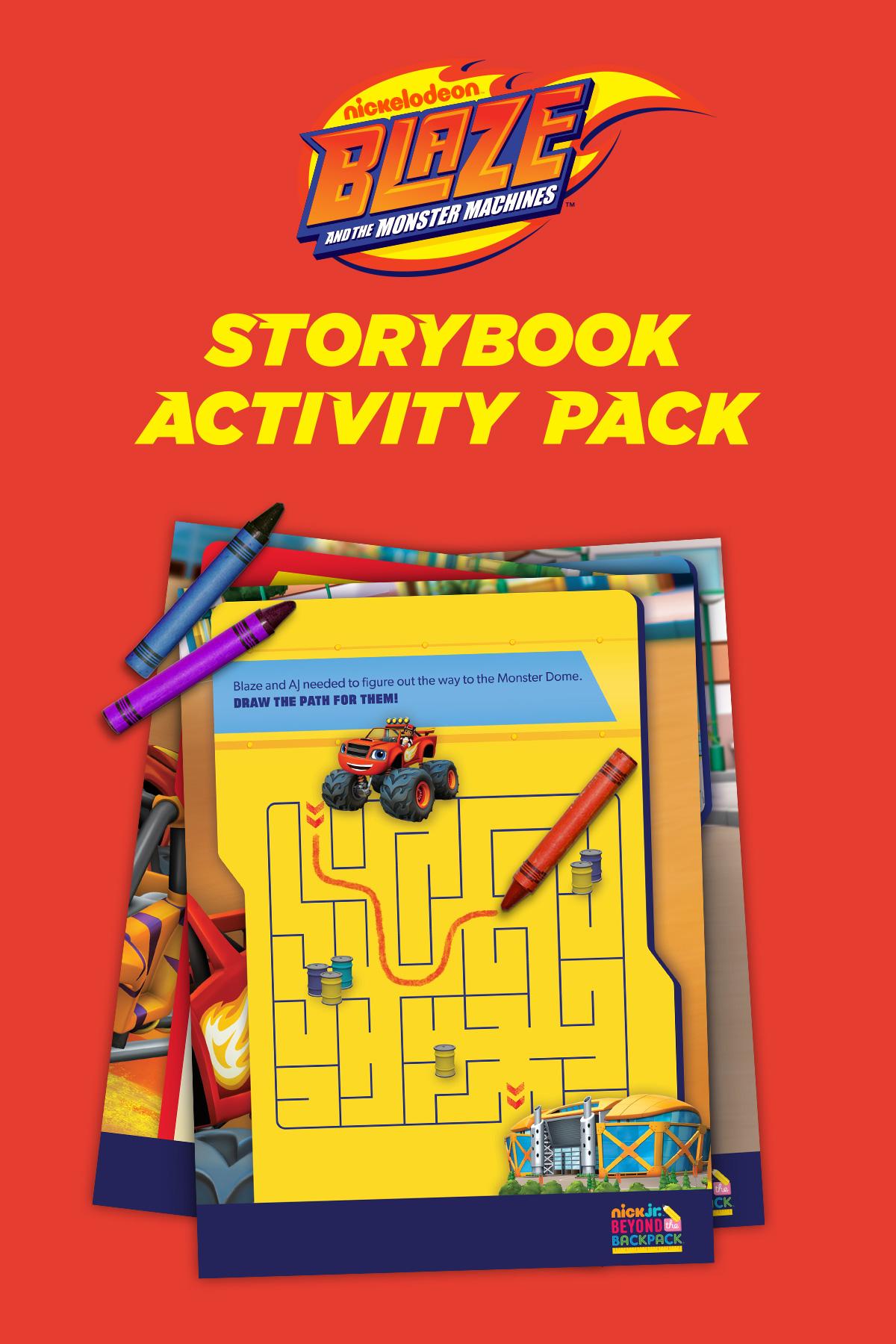 Blaze Activity Pack