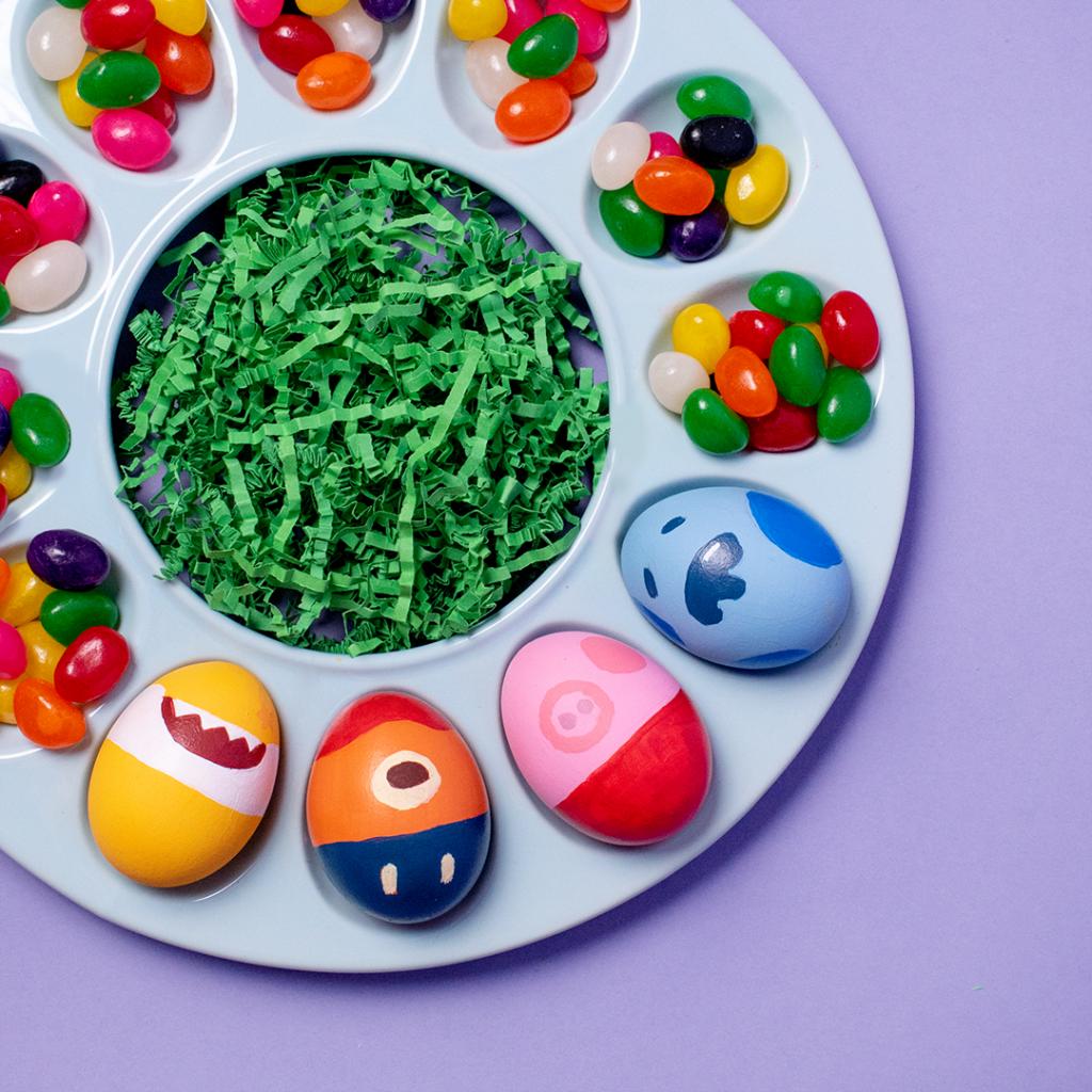 Nick Jr. Minimalist Easter Eggs