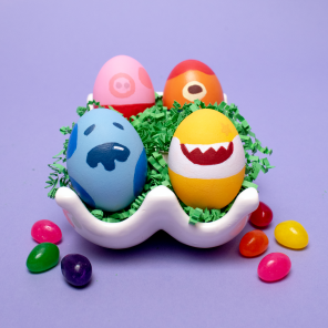 Nick Jr. Easter Egg Inspiration
