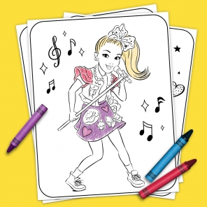 JoJo & BowBow Coloring Pages