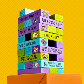 DIY Loud House Tower Game