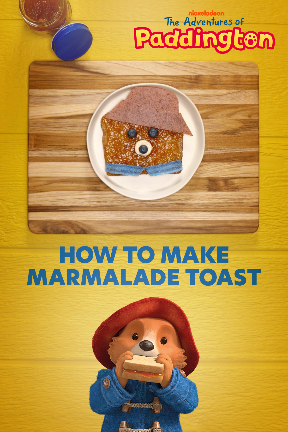 The Adventures of Paddington Marmalade Toast Recipe