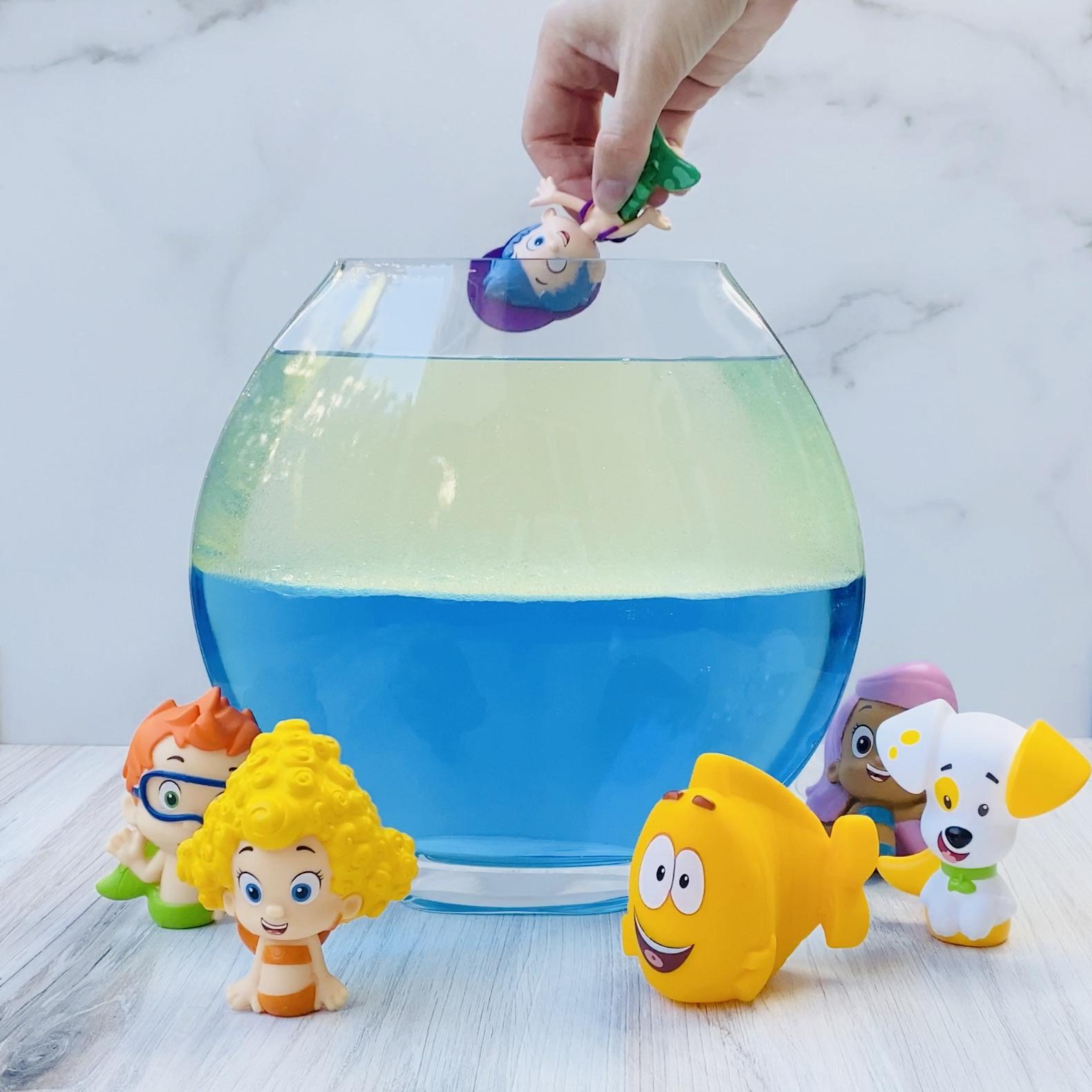 Bubble Guppies DIY Lava Lamp Step 4