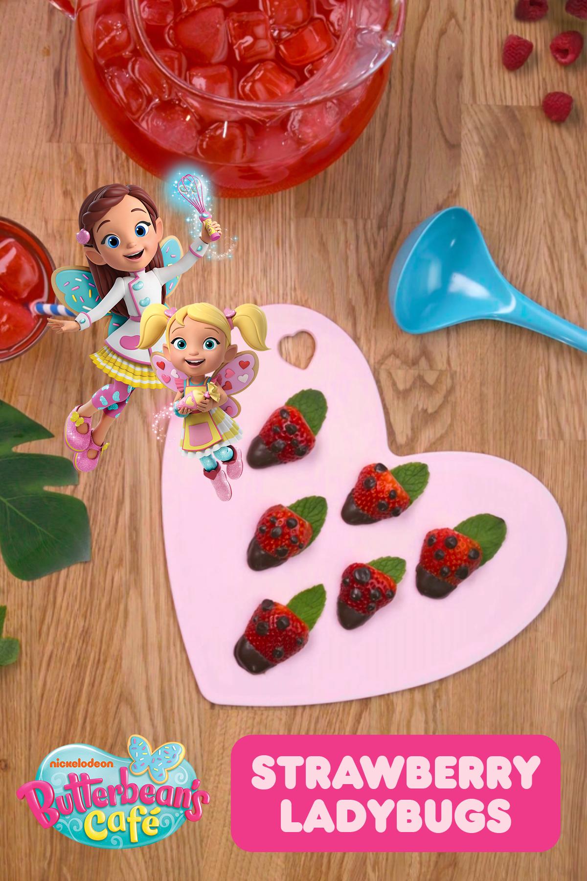 Strawberry Ladybugs Recipe