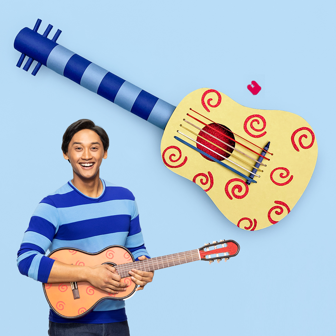 Blue's Clues & You! Make Your Own Handy Dandy Guitar