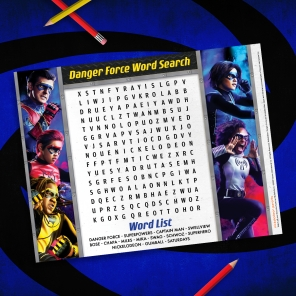 Danger Force Word Search