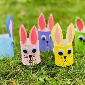 Friendly Springtime Bunny Craft