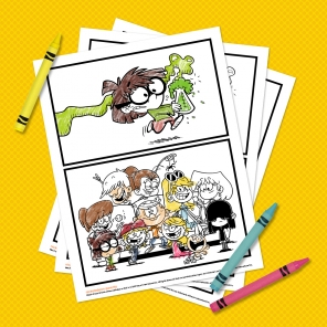 The Loud House Coloring Pack