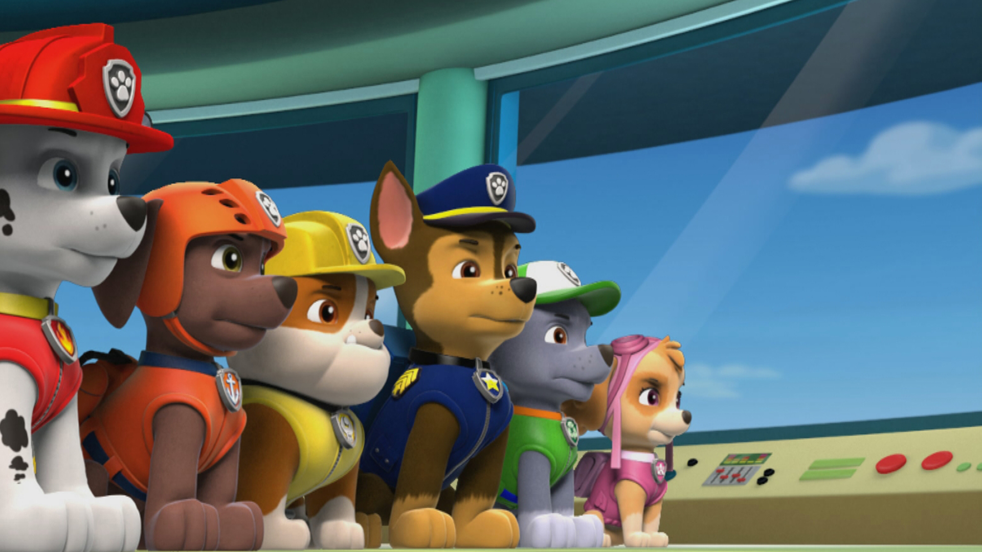 PAW Patrol Zoom Background