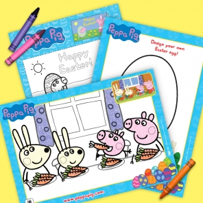Peppa Pig Easter Activity Pack
