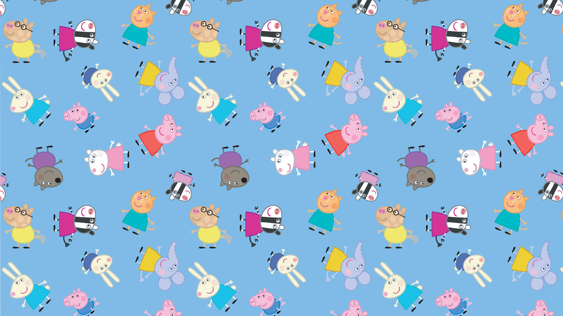 Peppa Pig Zoom Background