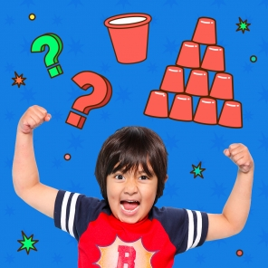 Ryan's Mystery Playdate Cup-Stacking Challenge