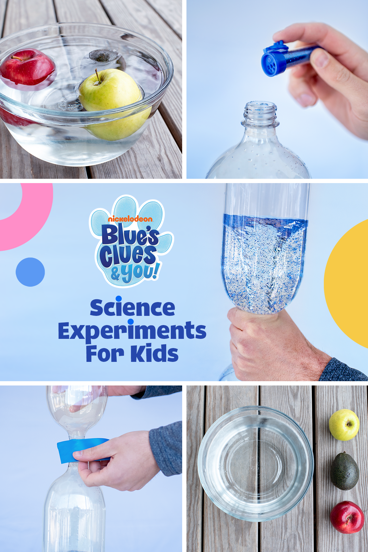 Blue's Clues Science Experiments For Kids