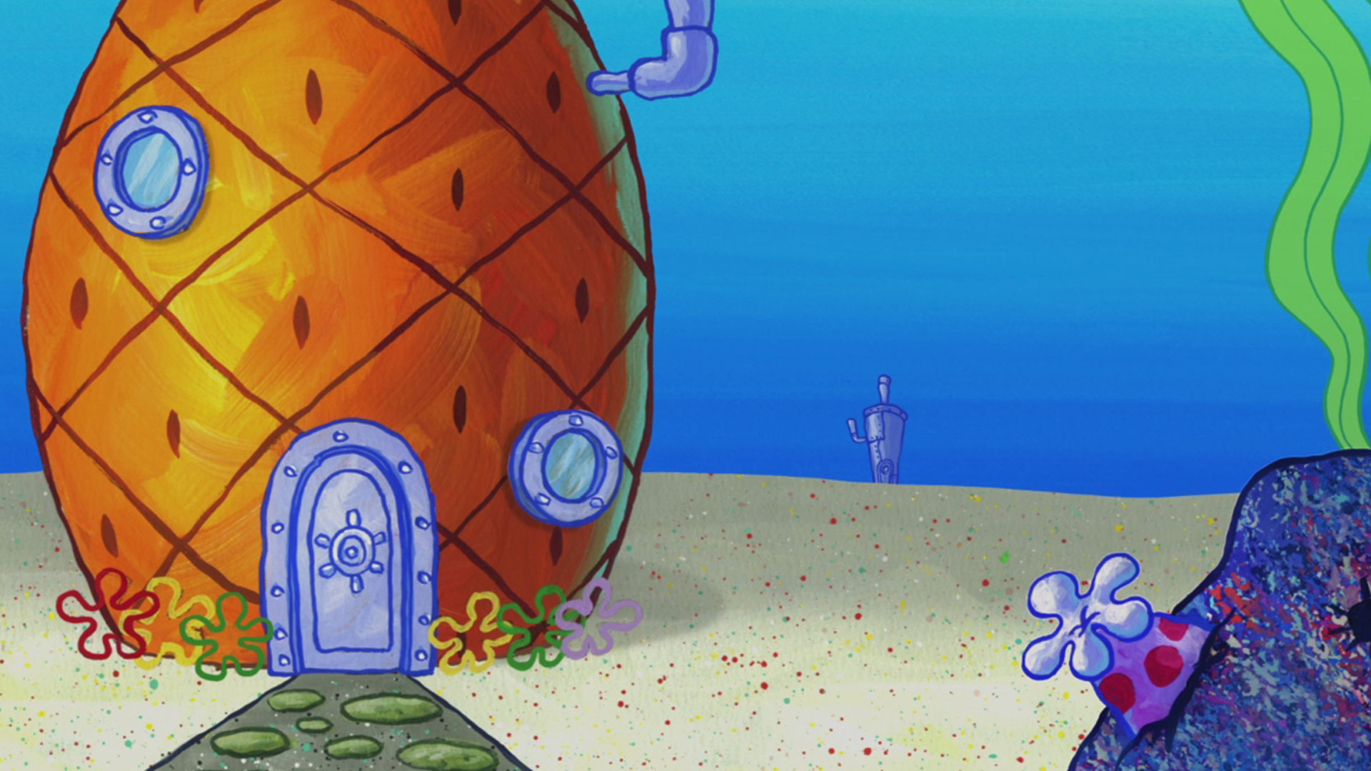 SpongeBob Zoom Background