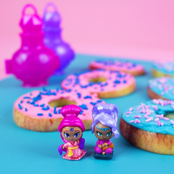 Shimmer and Shine Healthy Donuts
