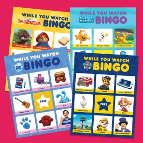 Watch-and-Play Bingo