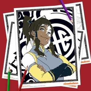 The Legend of Korra Coloring Pack