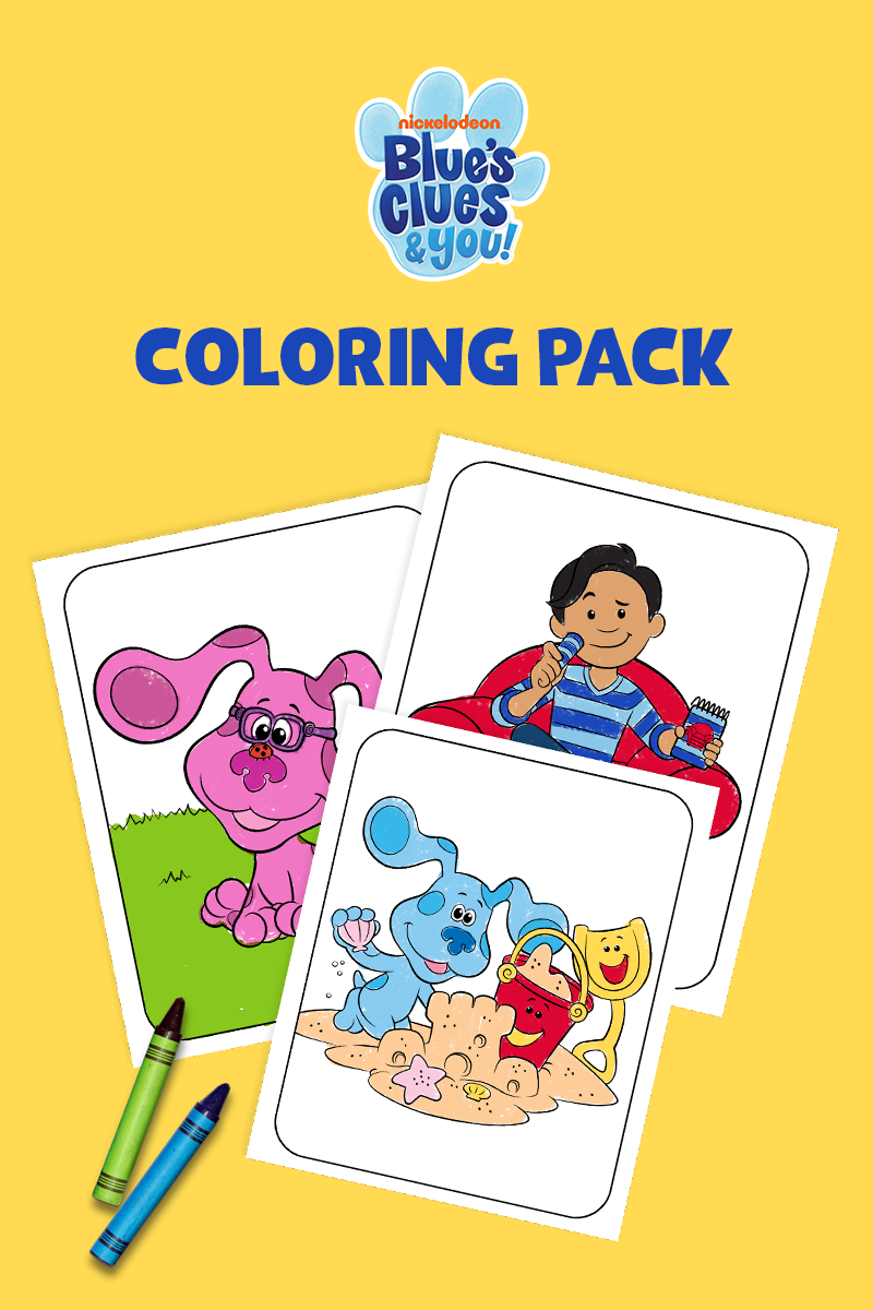 Blue's Clues & You! Coloring Pack