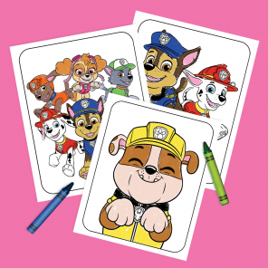 PAW Patrol Pups Coloring Pack