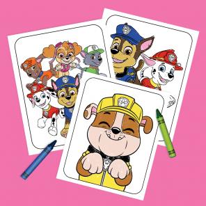 PAW Patrol Pups Coloring Pack