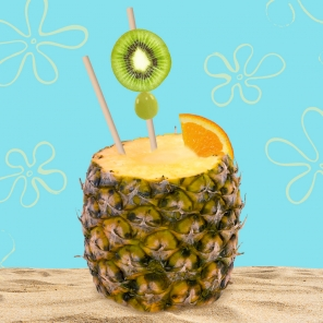 Kid-Friendly Pineapple Slushy