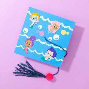 DIY Bubble Guppies Graduation Cap and Diploma