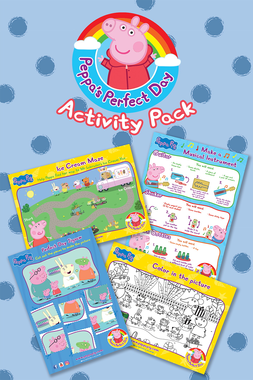 Peppa's Perfect Day Activity Pack