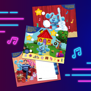 Blue's Clues & You! Activity Poster